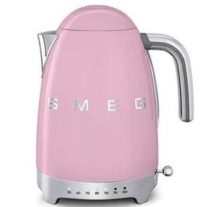 Smeg Variable Temperature Electric Kettle Pink
